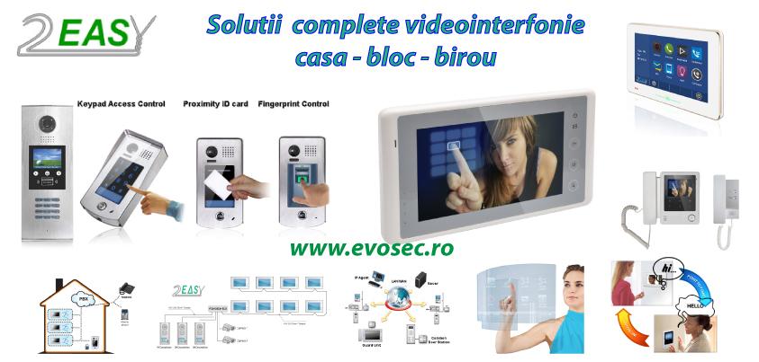 2 Easy - solutii complete videointerfonie
